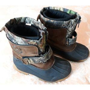 ⚠️3/$20  Ozark Trail Mossy Oak Camo Print Boots